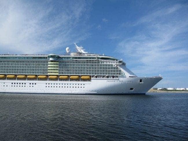 Freedom of the Seas – Sept 20 2009