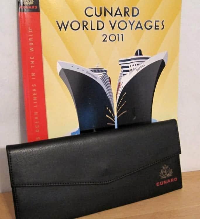 Cunard Line Document Holder