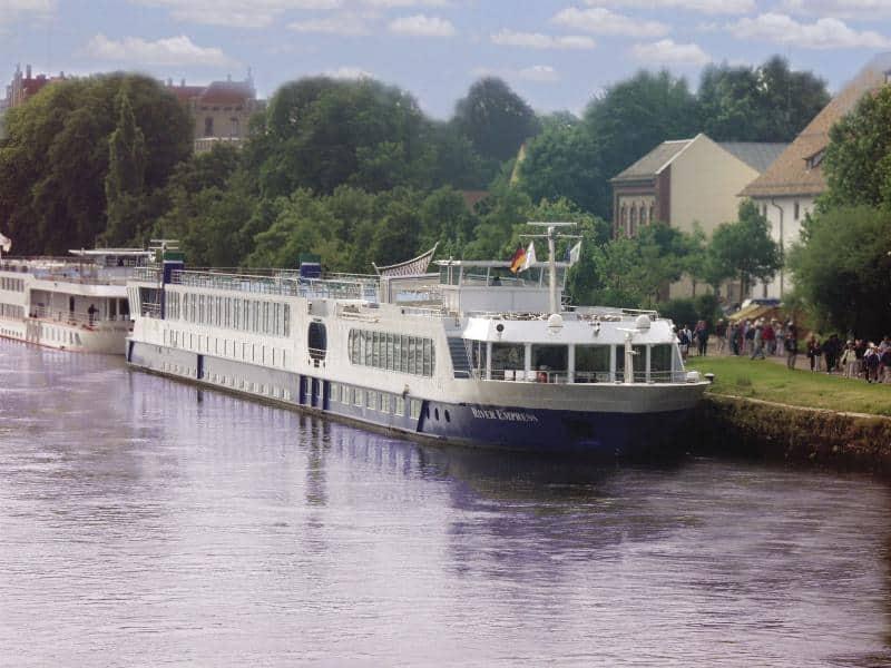 Uniworld River Empress on the Rhine River