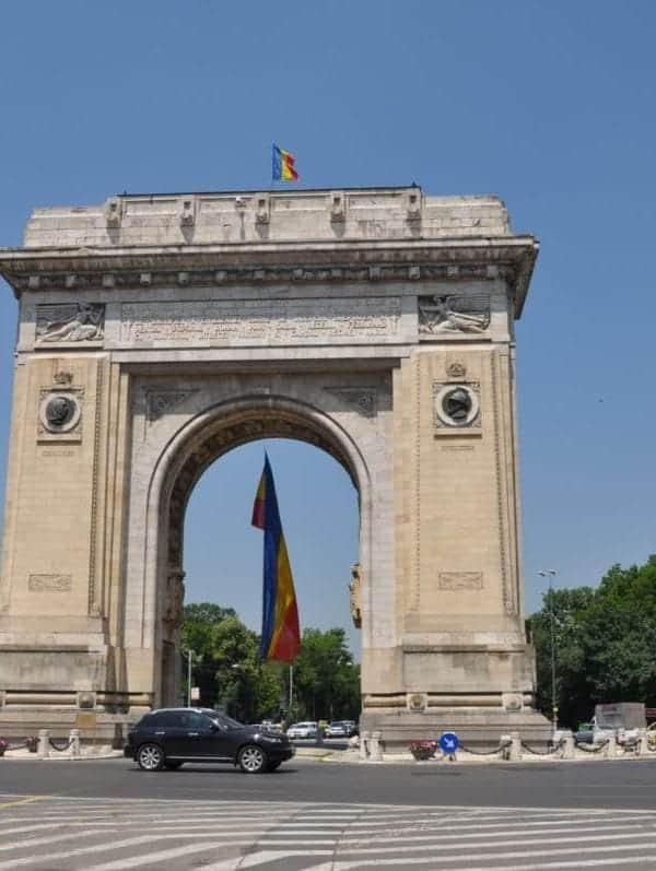 Arcul de Triumf – Triumphal Arch - Bucharest Romania