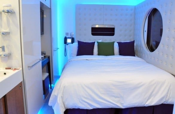 Studio cabin on the NCL Epic