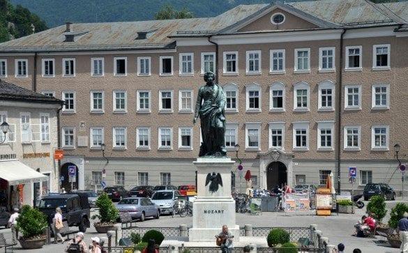 Salzburg on Mozartplatz
