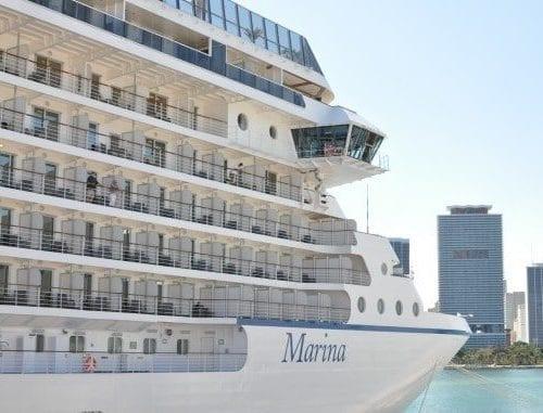 Oceania Marina in port