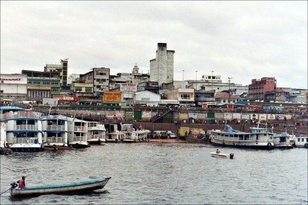 Amazon River cruise to Manaus, Brazil