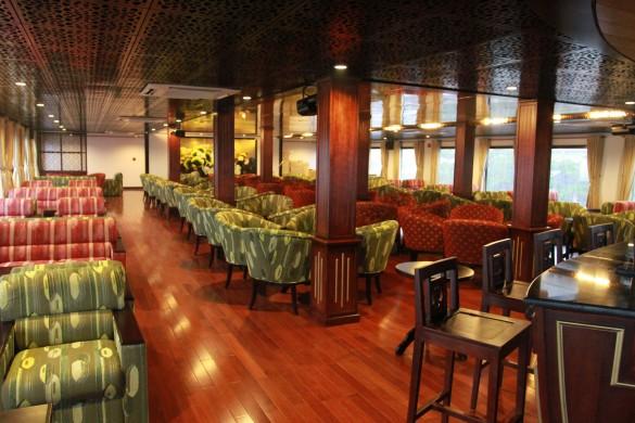 Main lounge on the AmaLotus