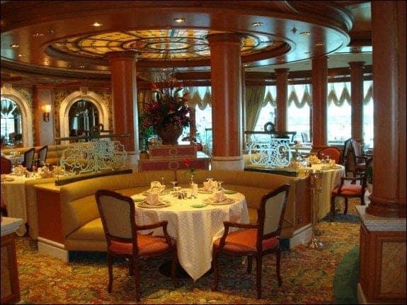 Princess Cruises Sabatinis Italian restaurant