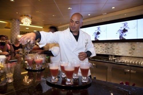 The Molecular Bar on Celebrity Cruises Celebrity Eclipse