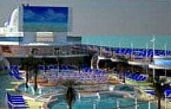 Royal Princess pool deck