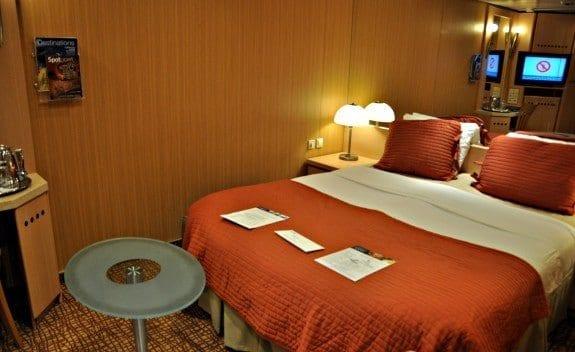 Celebrity Cruises Millennium inside cabin