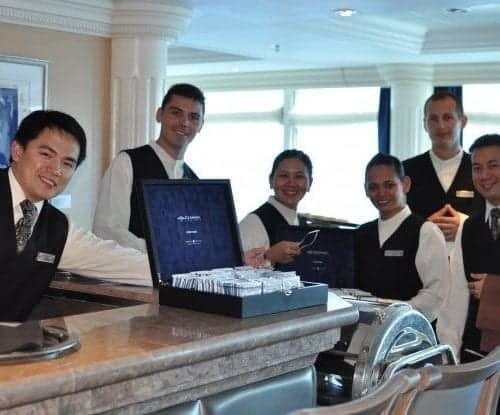 Azamara Club Cruises High Tea