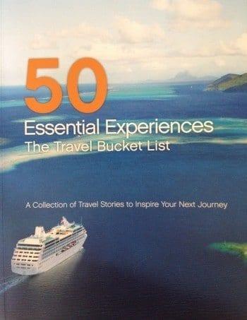 Princess Cruises 50 Essential Experiences book