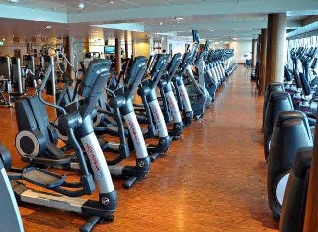 Norwegian Epic fitness area
