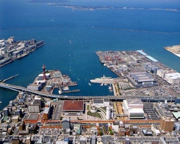 Hakata Port Japan