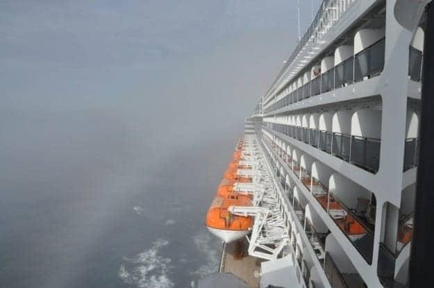 Cunard Line Queen Mary 2 transatlantic crossing