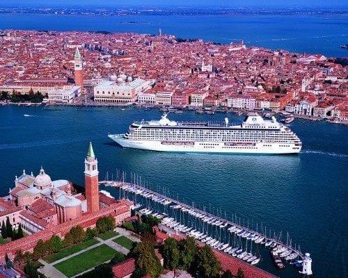 Crystal Serenity in Venice