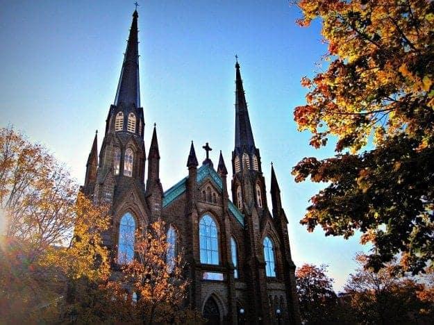 Charlottetown Prince Edward Island church
