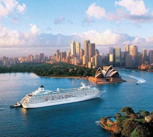 Crystal Cruises Crystal Symphony in Sydney