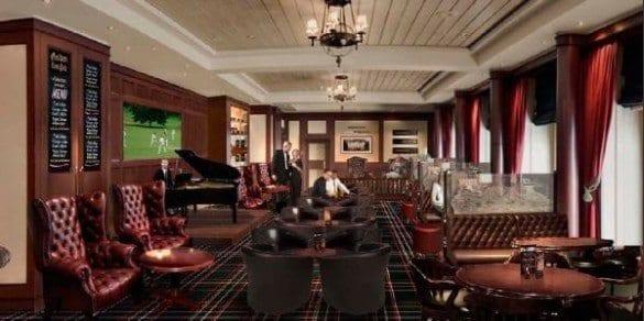 Cunard Queen Mary 2 Golden Lion Pub