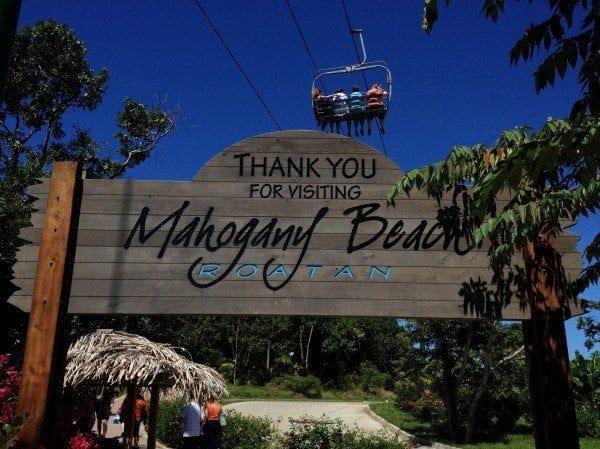 Mahogany Beach Roatan Honduras