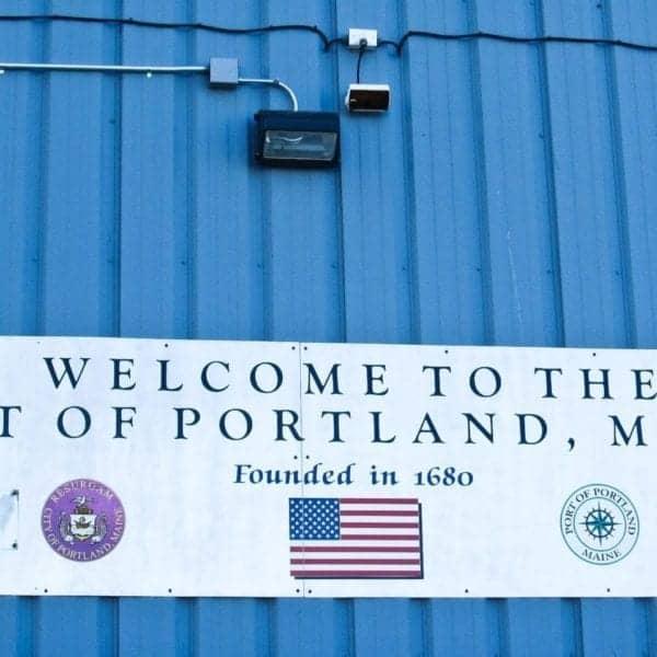 Portland Maine on a Canada New England cruise