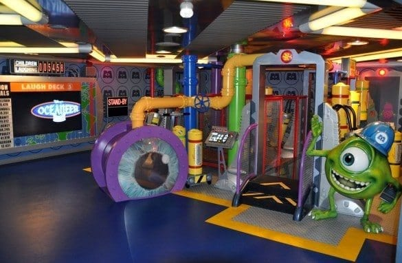 Disney Dream Oceaneer playroom