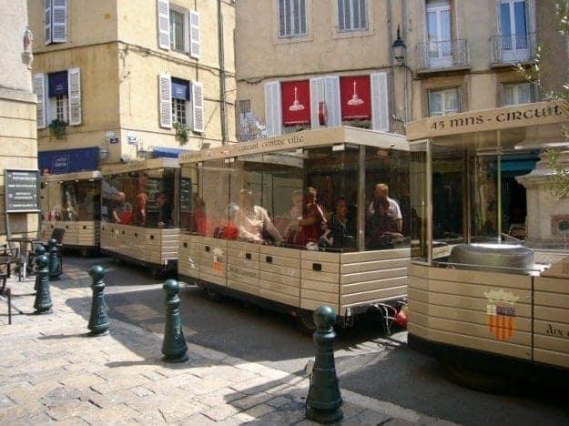 Aix en Provence little train tour