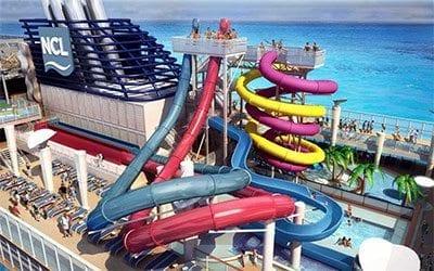 Norwegian Cruise Line Norwegian Breakaway Aquapark
