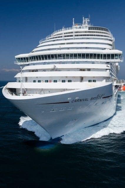 Carnival Breeze Sea Trials