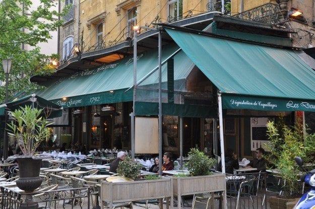 Aix en Provence Les Deux Garcons restaurant