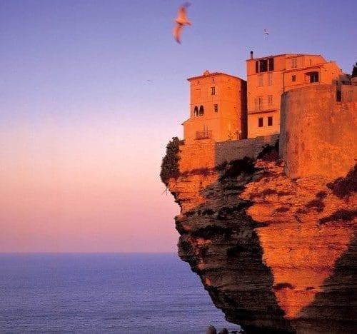 Fortress at Bonifacio Corsica France