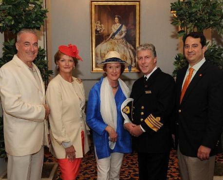Cunard Line Queen Mary 2 Churchill Luncheon