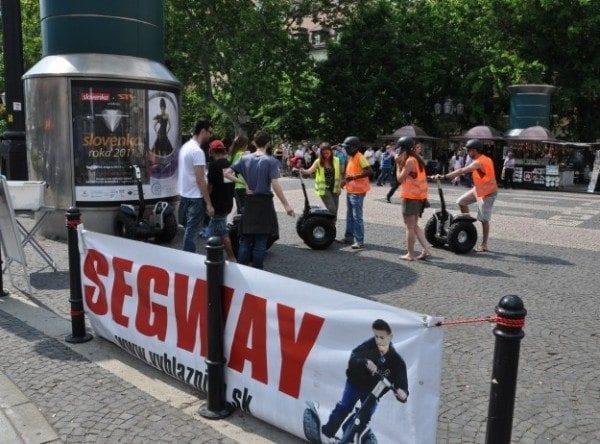 Segway in Bratislava