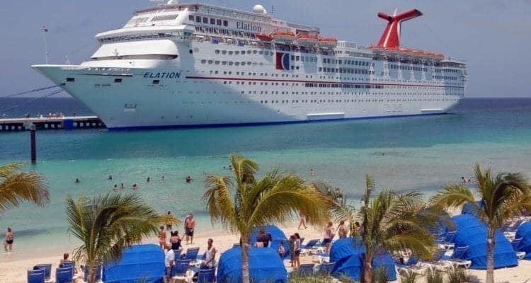 Carnival Ship Caught Dumping Gray Water at Port Canaveral