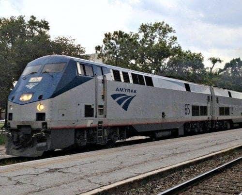 Amtrak Silver Star at Winter Park