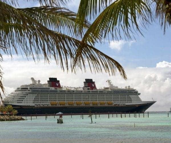Disney Fantasy at Castaway Cay in the Bahamas