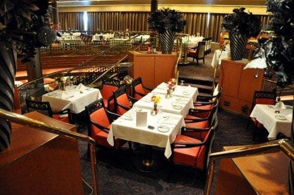 Main dining room aboard Holland America Eurodam