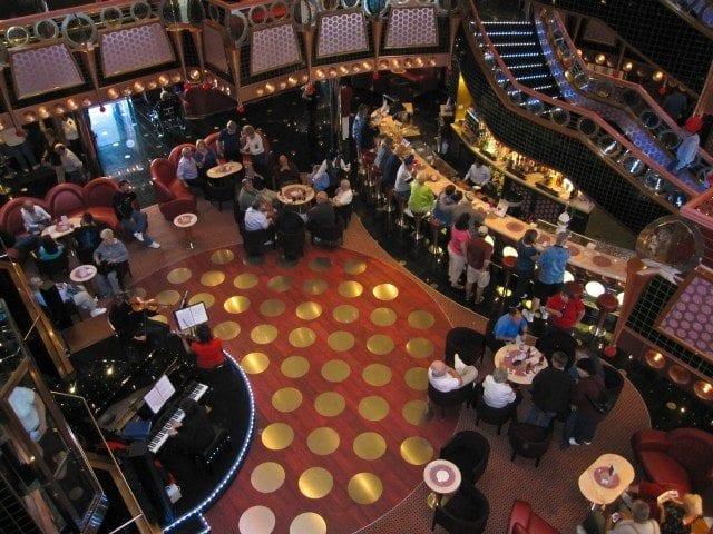 Carnival Splendor atrium lobby
