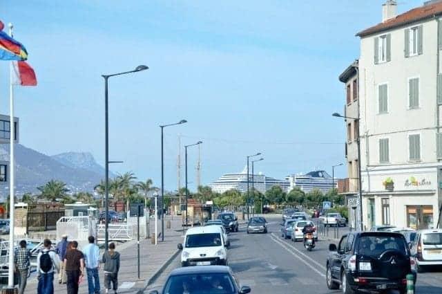 MSC Splendida in Toulon, France