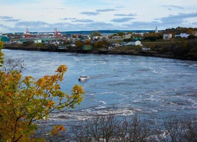 Reversing Falls Saint John New Brunswick shuttle