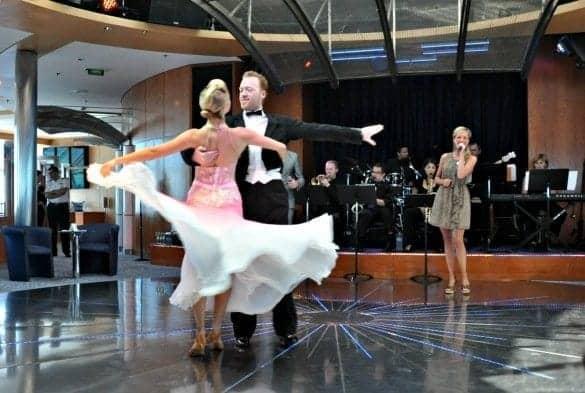 Celebrity Millennium Ballroom Dance performance