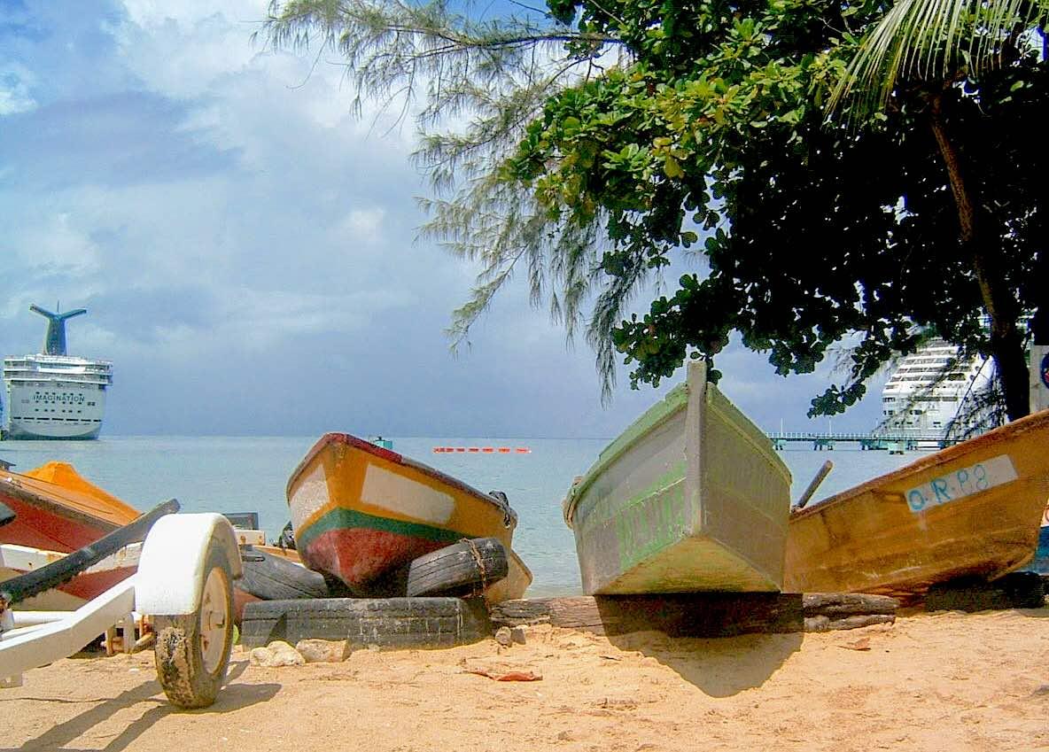 Boats at Fisherman's Point, Ocho Rios