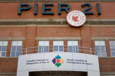 Pier 21 at Halifax Seaport