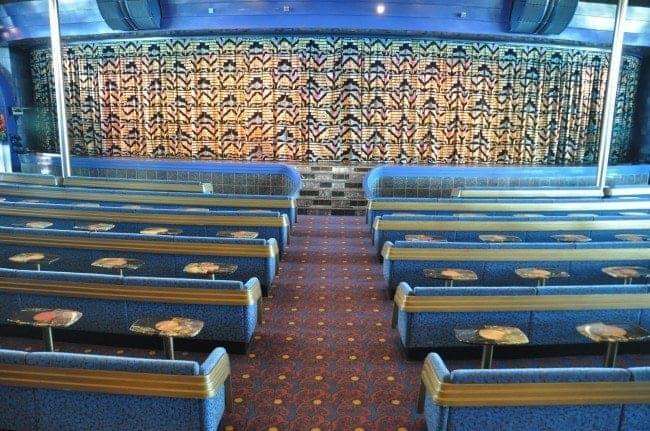 Carnival Ecstasy Blue Sapphire Main Show Lounge