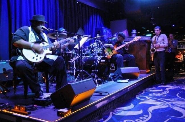 Norwegian Epic Slam Allen Blues Band at Fat Cats