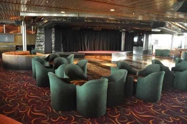 Carnival Ecstasy Starlight Aft Lounge