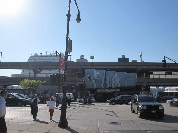 Manhattan Cruise Terminal in New York City