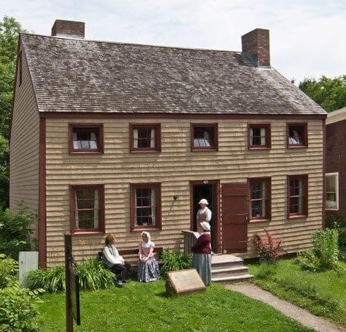 Cossitt House in Sydney Nova Scotia