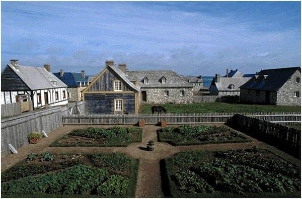 Fortress of Louisbourg Cape Breton Island Nova Scotia