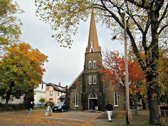 St. George's Church in Sydney Nova Scotia