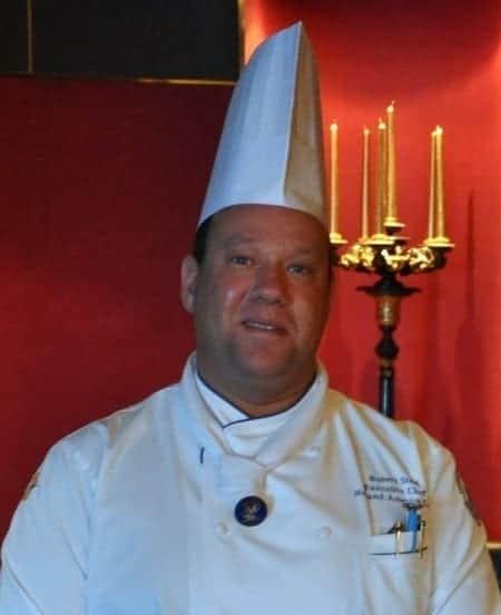 Chef Robert Steel in Pinnacle Grill